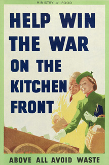 Help Win The War on the Kitchen Front poster