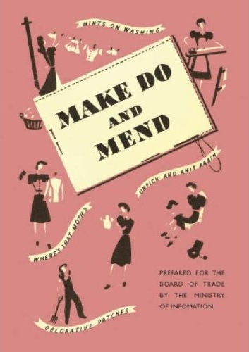 Make Do and Mend pamphlet