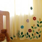 My daughter's finished bedroom curtains